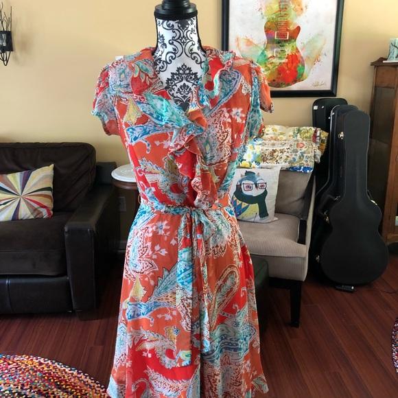 MSK Dresses & Skirts - Bohemian vintage beautiful dress